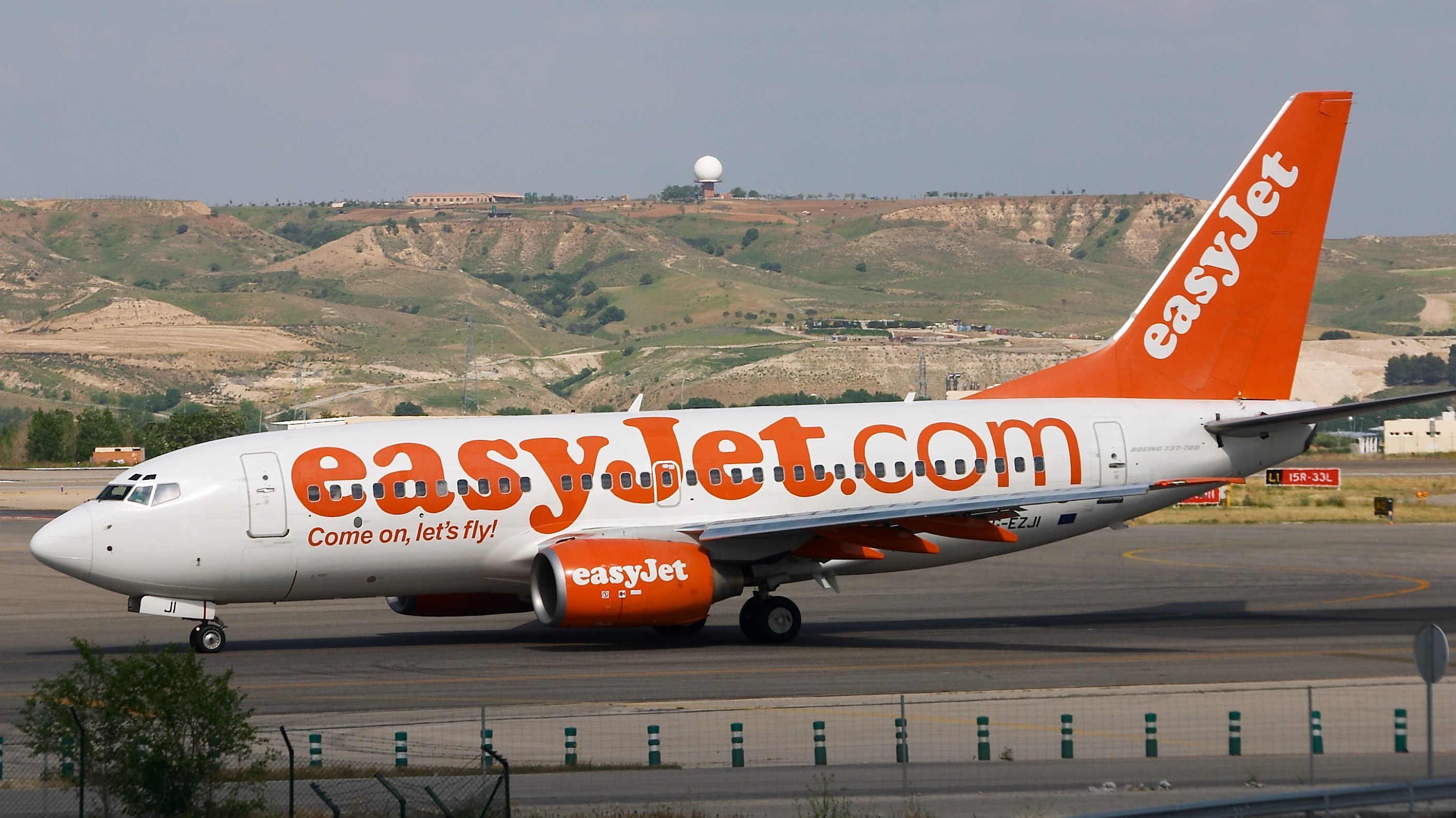 Easyjet vol low cost